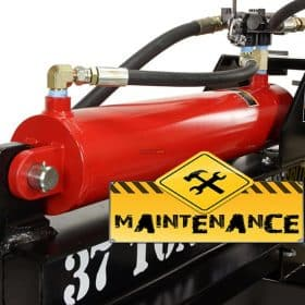 Hydraulic log splitter maintenance tips