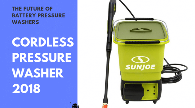 Best Cordless Pressure Washers: What is the Future of Battery Powered Pressure Washers?