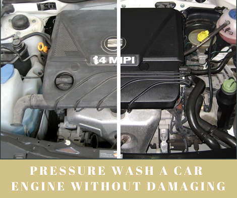How To Pressure Wash Car Engine In 5 Easy Steps Without Damaging