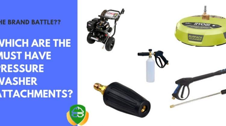 pressure washer attachments for better cleaning