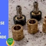 pressure washer hose fittings adapter and couplers guide title