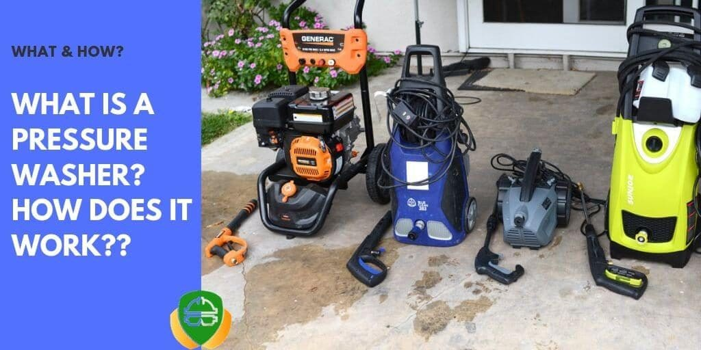what is a pressure washer and its basic
