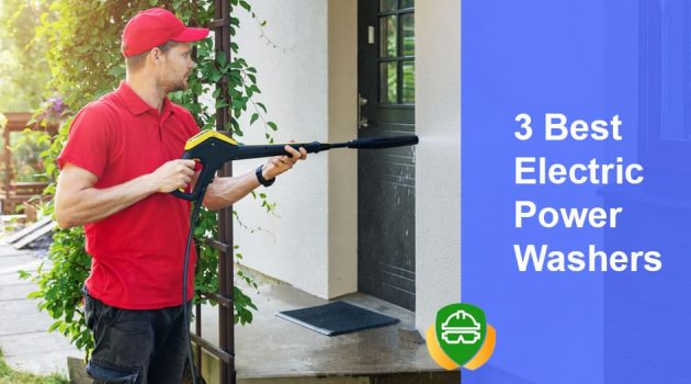 3 Best Electric Power Washers